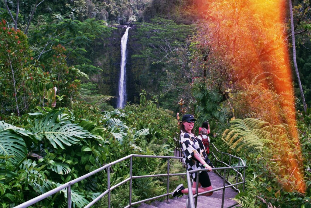 Picture of Alison Swing in Hawaii